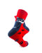 cooldesocks cat paw grey crew socks right view image