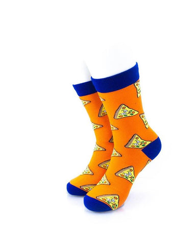 CoolDeSocks Cheese (Q) Socks front view image