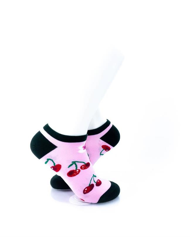 CoolDeSocks Cherry Socks right view image