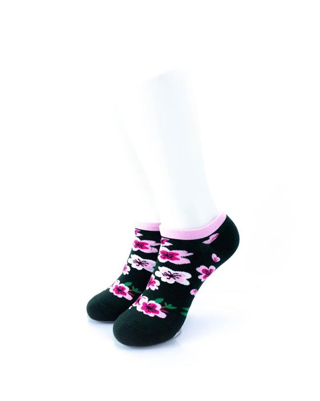 CoolDeSocks Cherry Blossom Socks front view image