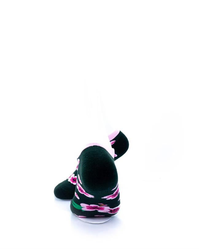 CoolDeSocks Cherry Blossom Socks rear view image