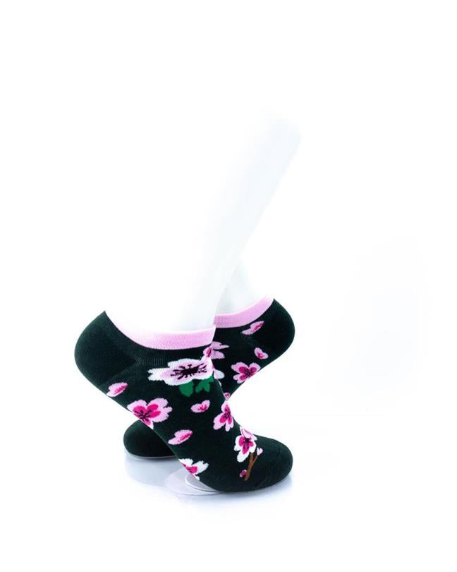 CoolDeSocks Cherry Blossom Socks right view image