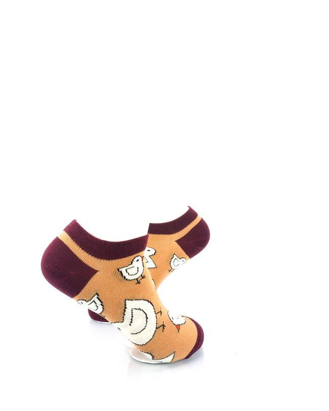 cooldesocks chicken little liner socks right view