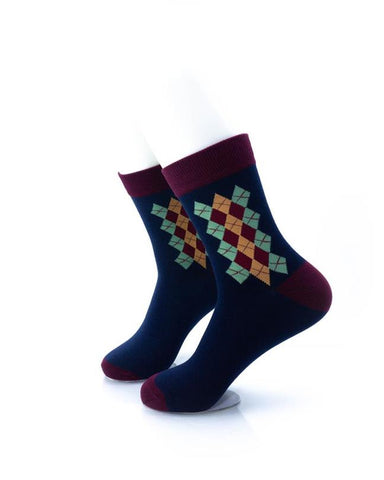 CoolDeSocks Classic Oxford Socks left view image