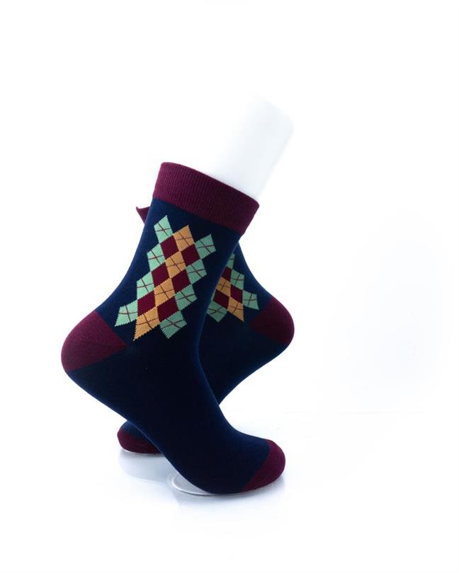 CoolDeSocks Classic Oxford Socks right view image