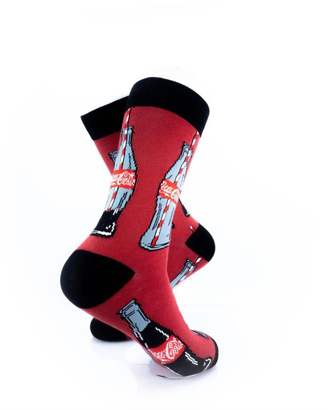 cooldesocks cocacola bottle crew socks right view