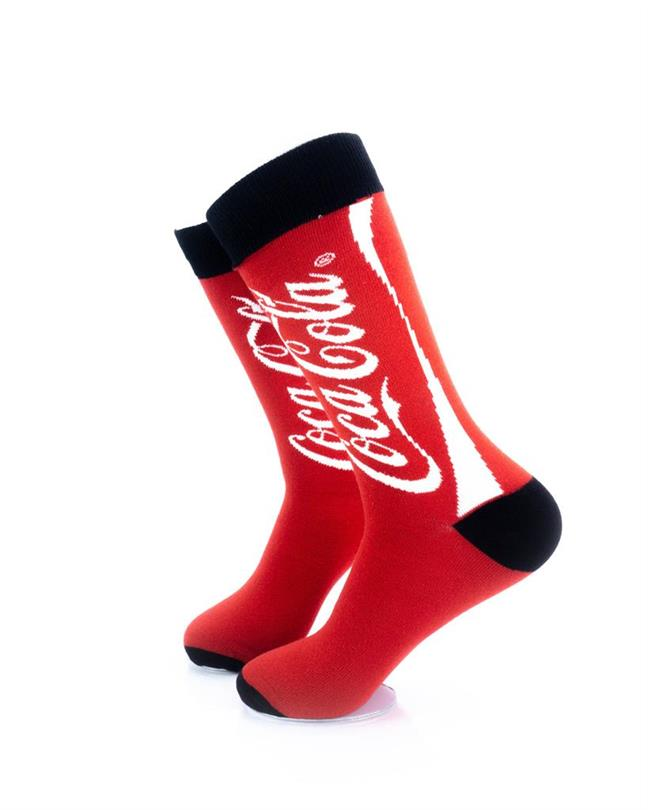 CoolDeSocks CocaCola Tin Can Socks left view image