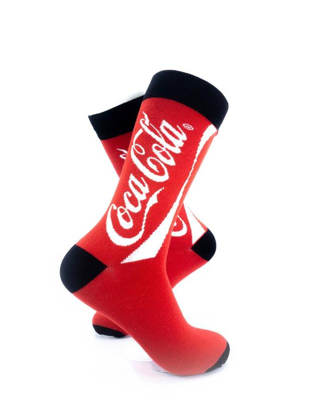 CoolDeSocks CocaCola Tin Can Socks right view image
