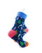 cooldesocks colorful pine trees quarter socks right view image