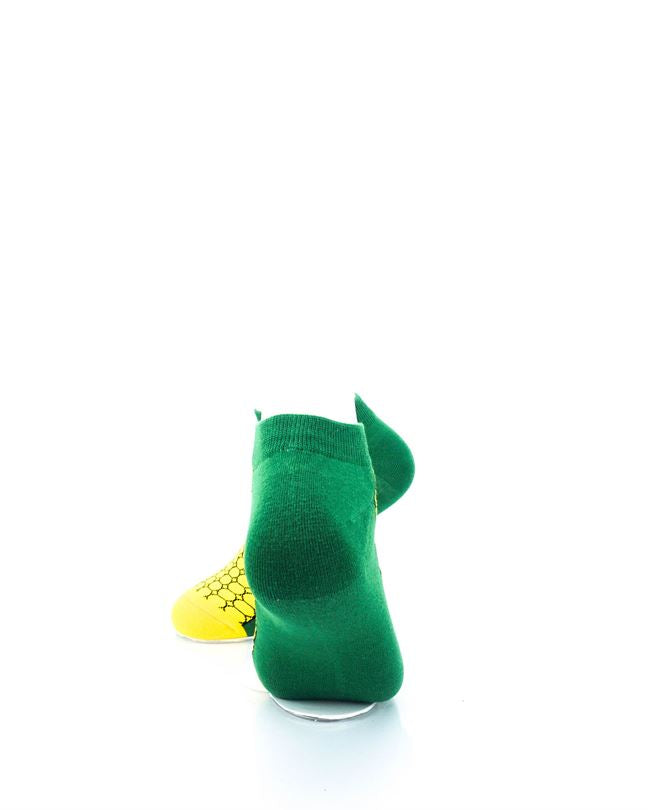 CoolDeSocks Corn on the Cob Ankle Socks rear view image