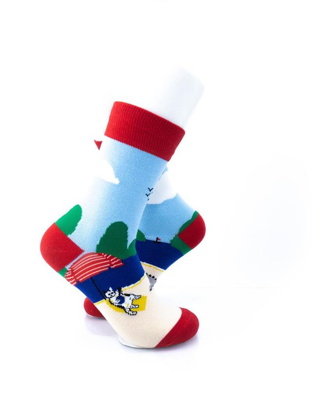 CoolDeSocks Crocodile Resort Socks right view image
