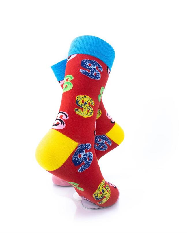 CoolDeSocks Dollars Socks right view image