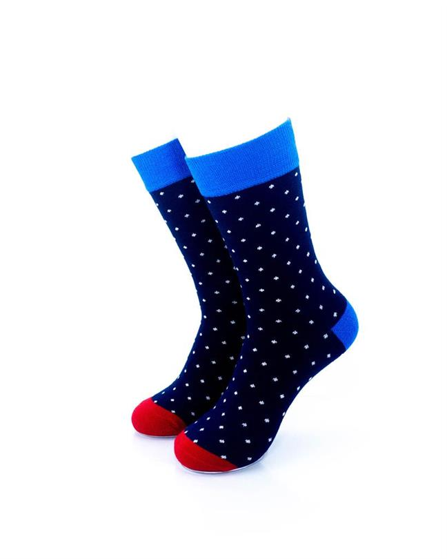 CoolDeSocks Exquisite Dot Socks front view image