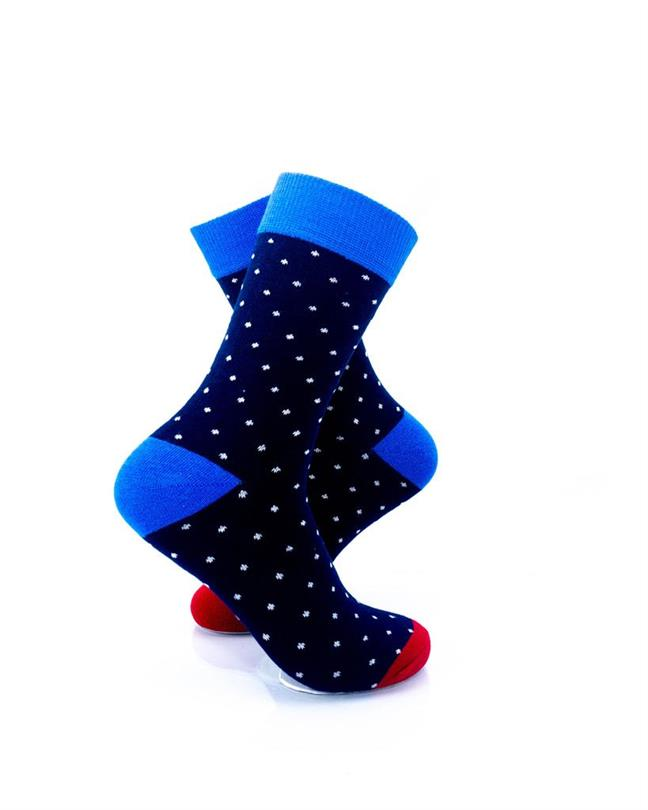 CoolDeSocks Exquisite Dot Socks right view image