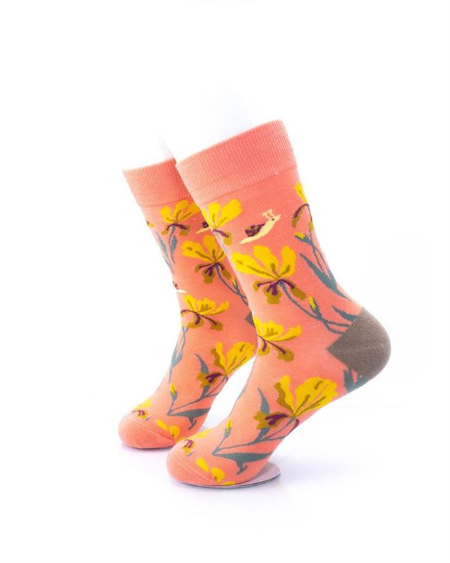 CoolDeSocks Flowers - Esperanza Socks left view image