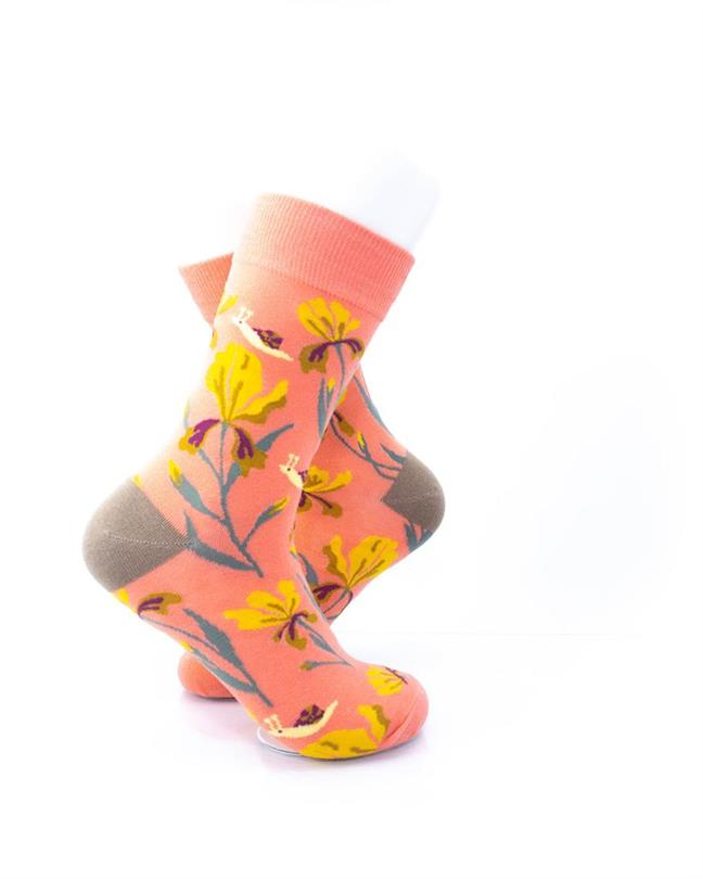 CoolDeSocks Flowers - Esperanza Socks right view image