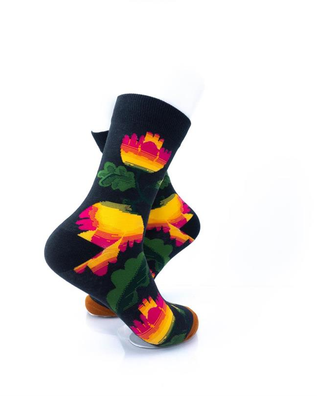 CoolDeSocks Flowers - Hibiscus Socks right view image
