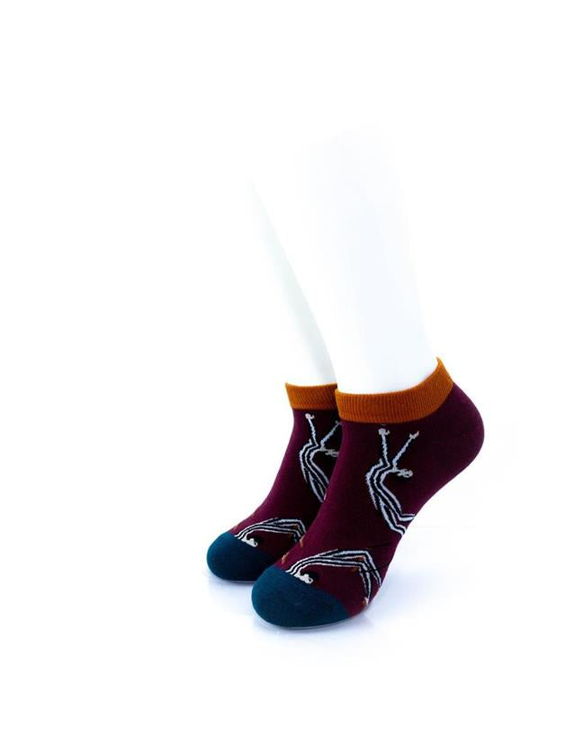CoolDeSocks Flying Trapeze (A) Socks front view image