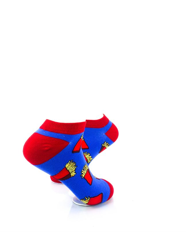 CoolDeSocks French Fries Ankle Socks right view image