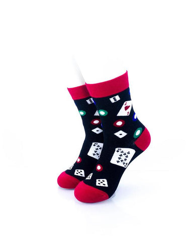CoolDeSocks Gamble Socks front view image