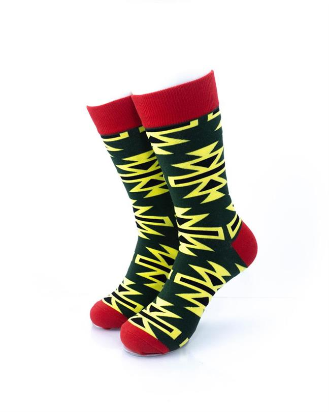 CoolDeSocks Graphic Art Socks front view image