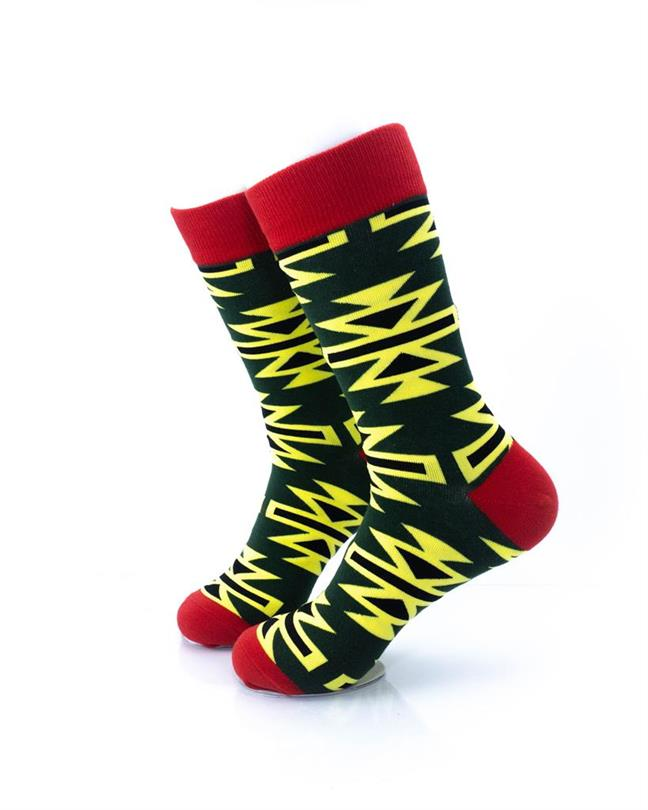 CoolDeSocks Graphic Art Socks left view image