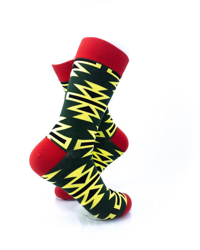 CoolDeSocks Graphic Art Socks right view image