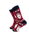 cooldesocks hamsa crew socks left view