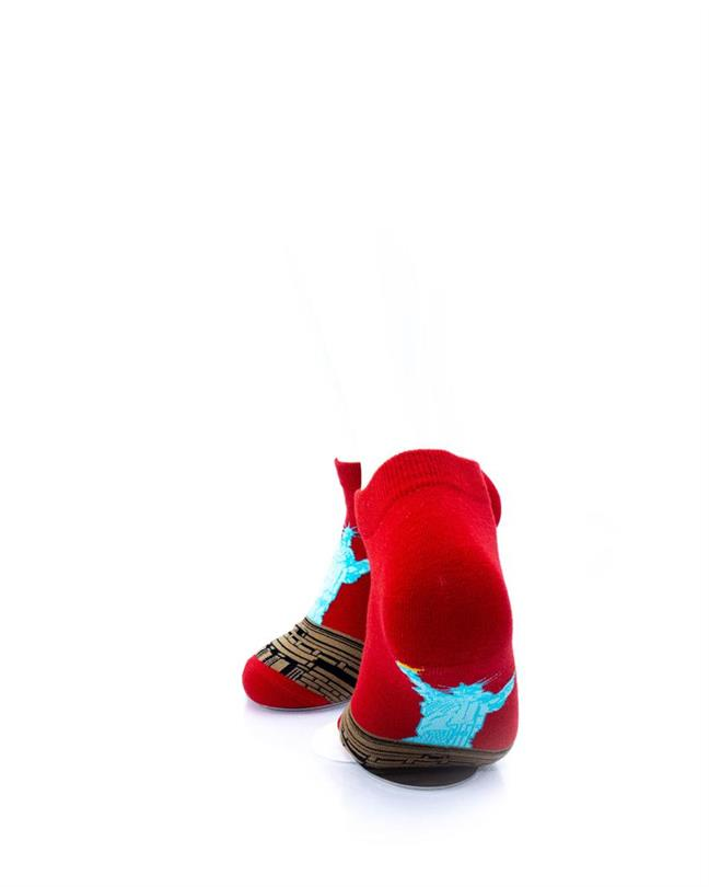 cooldesocks lady liberty ankle socks rear view