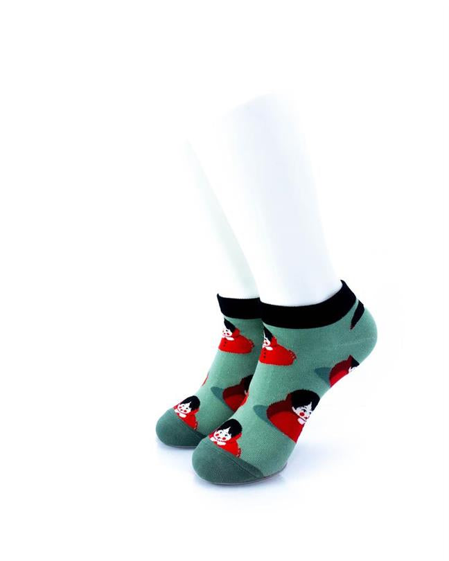CoolDeSocks Little Red Riding Hood Socks front view image