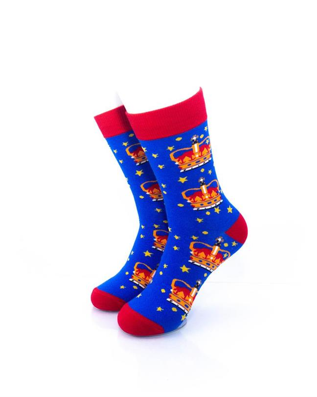 CoolDeSocks London - Crown Socks front view image