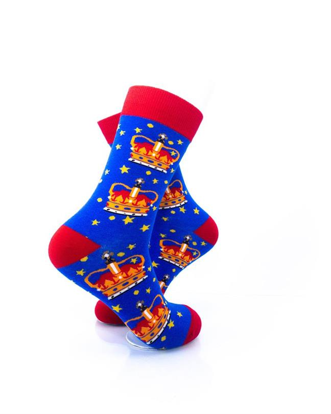 CoolDeSocks London - Crown Socks right view image