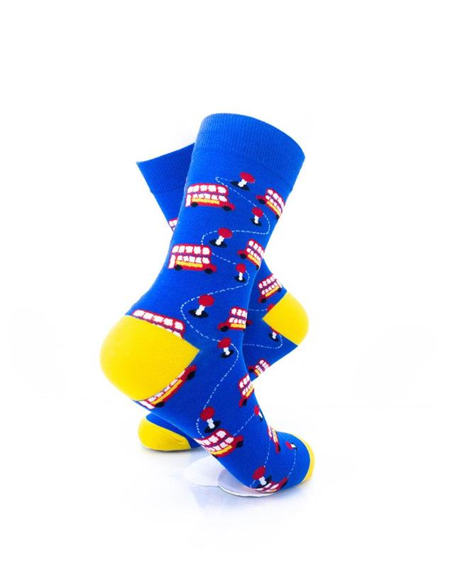 CoolDeSocks London - Double Decker Socks right view image