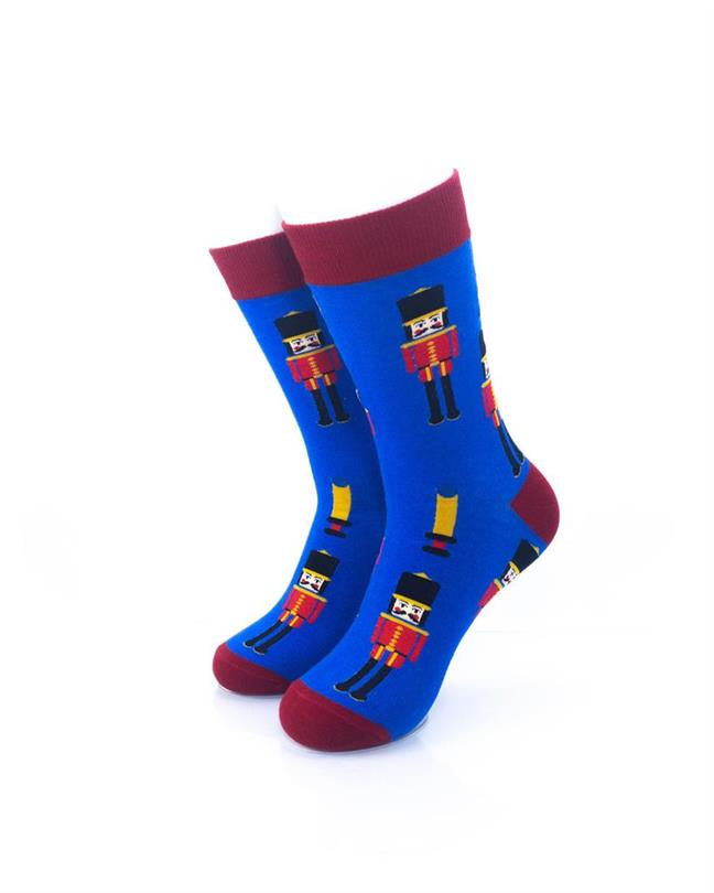 cooldesocks london royal guard crew socks front view