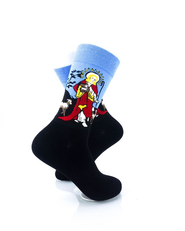 CoolDeSocks Lord Shepherd Crew Socks right view image