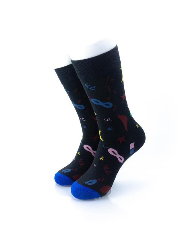 CoolDeSocks Masquerade Socks front view image