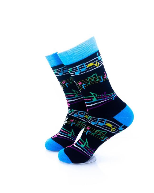 CoolDeSocks Music - Notes Socks left view image