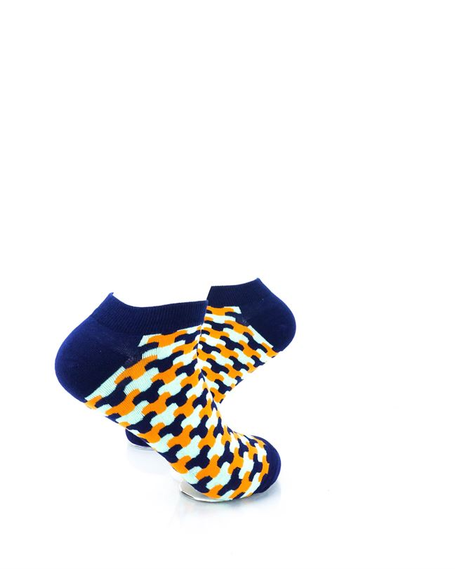 cooldesocks neo army blue ankle socks right view