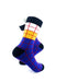 cooldesocks old school square 2 quarter socks right view image