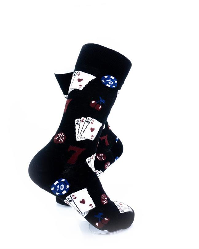 CoolDeSocks Playing Cards Socks right view image