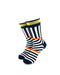 cooldesocks psychedelic bw orange gold crew socks front view image