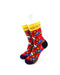 cooldesocks queen radiogaga quarter socks front view image