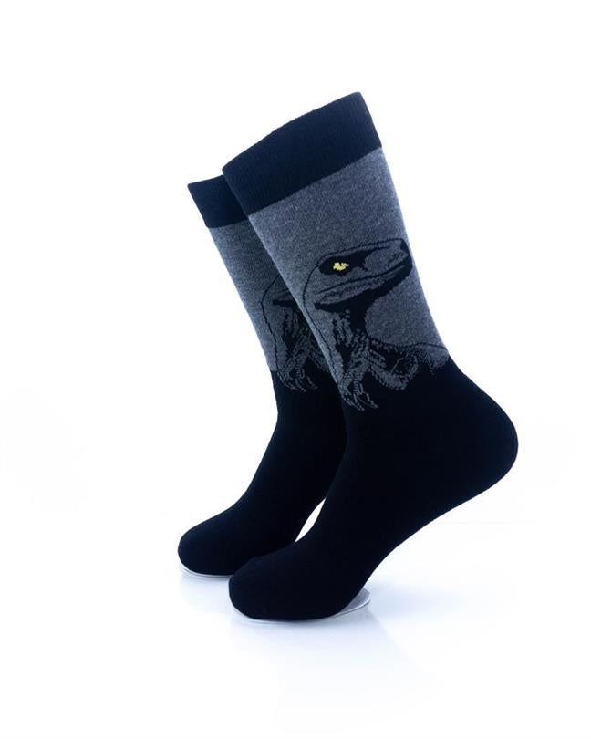 CoolDeSocks Raptor - Black Socks left view image