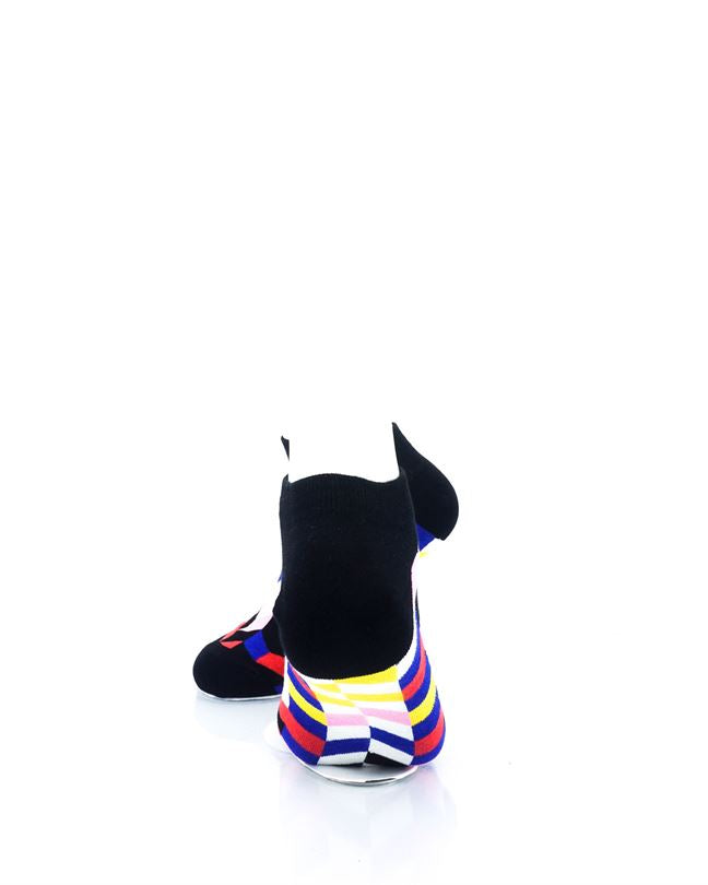 cooldesocks retro disco ankle socks rear view