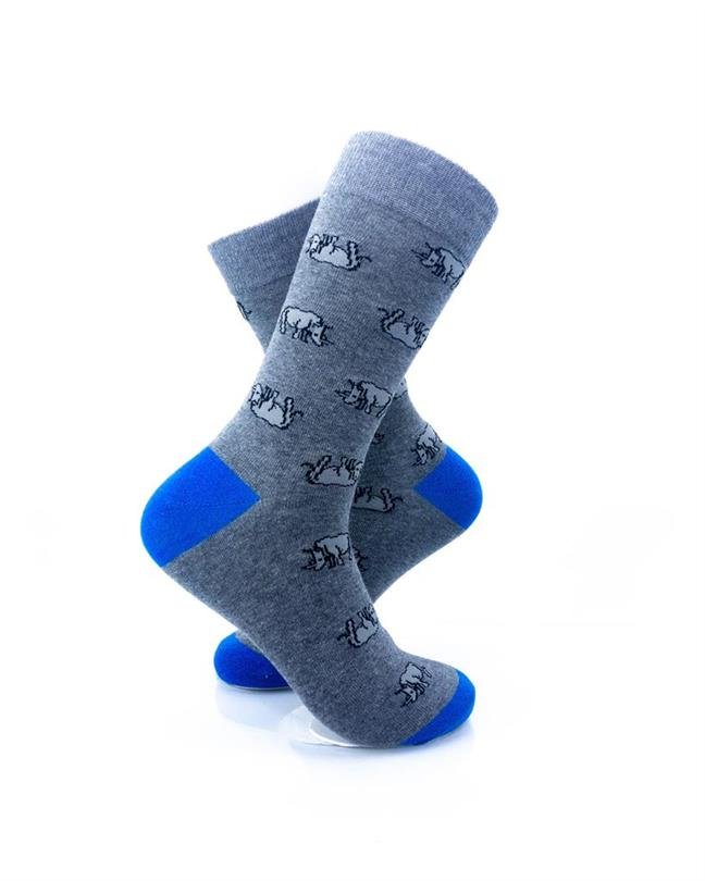 cooldesocks rhino crew socks right view