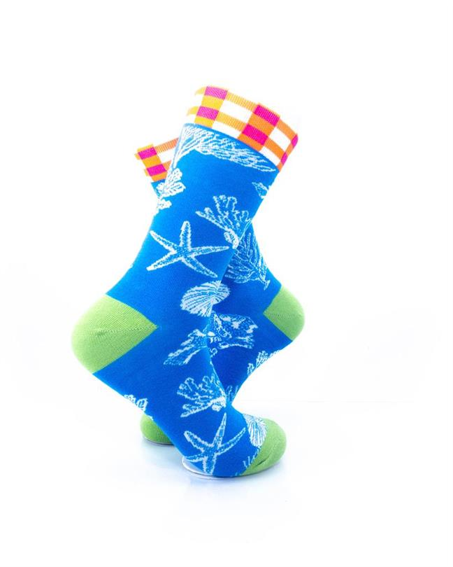 CoolDeSocks Sea Coral Socks right view image