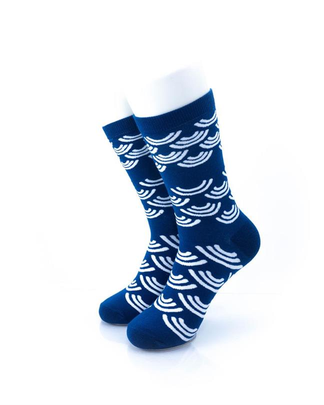 CoolDeSocks Seigaiha Socks front view image