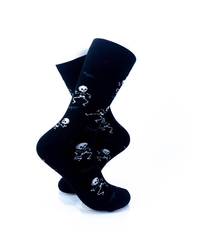 CoolDeSocks Skeleton Dance Socks right view image