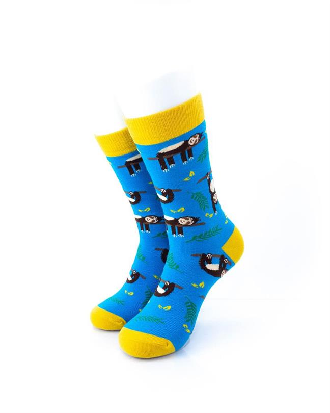 CoolDeSocks Sloths Socks front view image