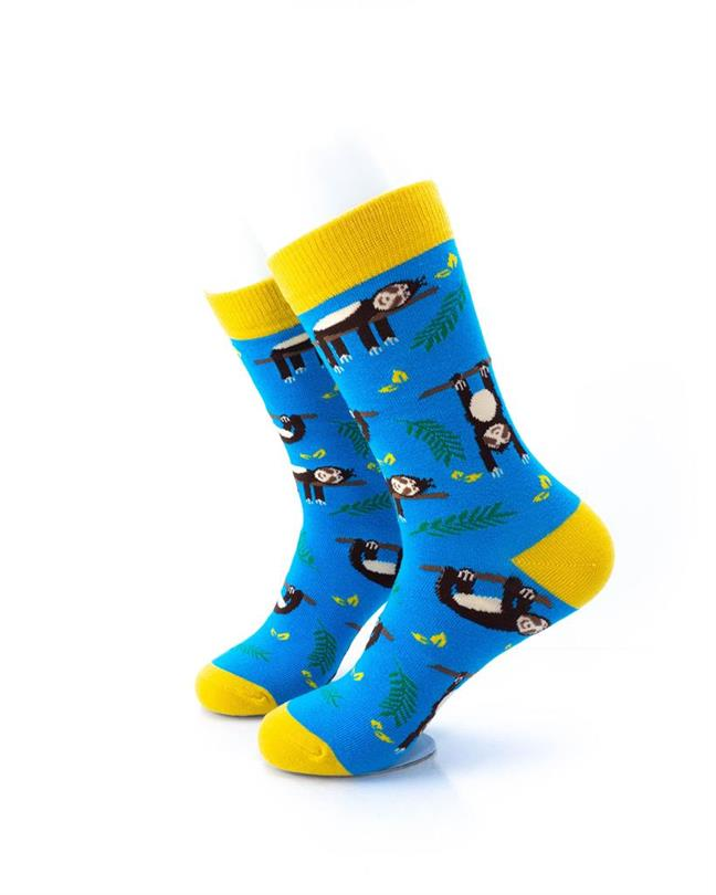 CoolDeSocks Sloths Socks left view image